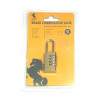 Lock Brass Combination 21mm